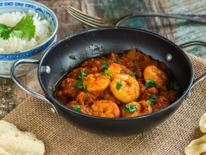 Prawn Curry - Indian Curry House