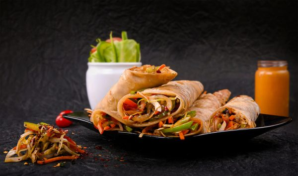 Chicken Roll - Indian Curry House